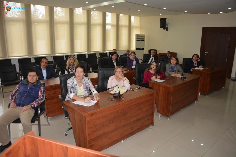 Belediye çalışanlarına EBYS eğitimi