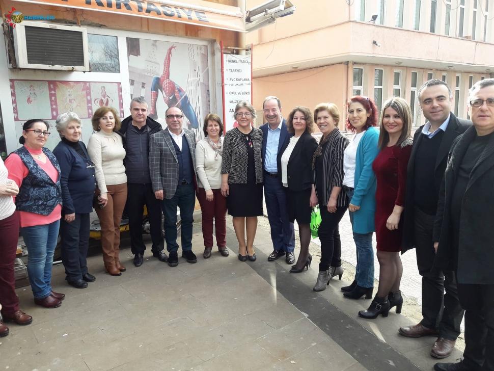 CHP'li Kadınlar Kahvaltıda Buluştu.