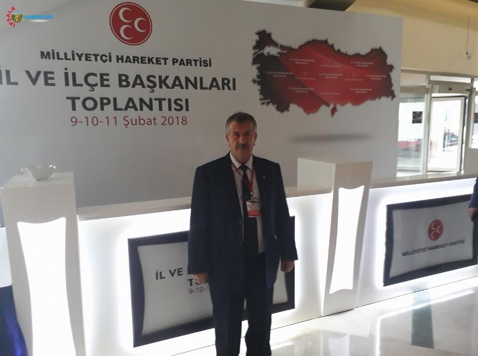 Avkıran, Antalya'daki Toplantıya Katıldı.