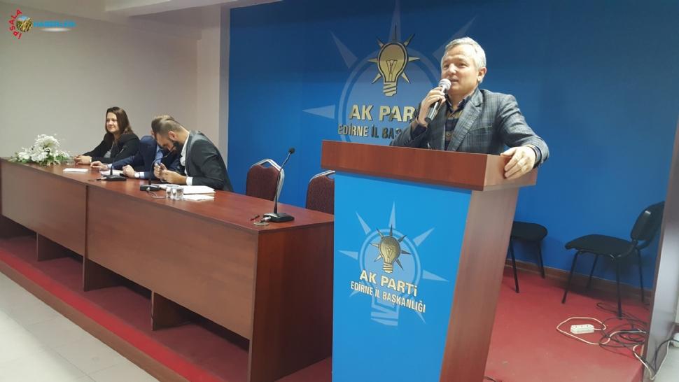 """Kerman, """"AK Parti Devrim Niteliğinde Adımlar Attı"""""""