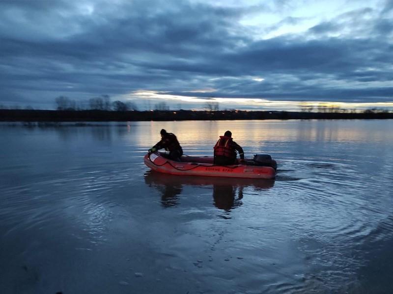 Tunca Nehri taştı, mahsur kalan sürücüyü AFAD kurtardı