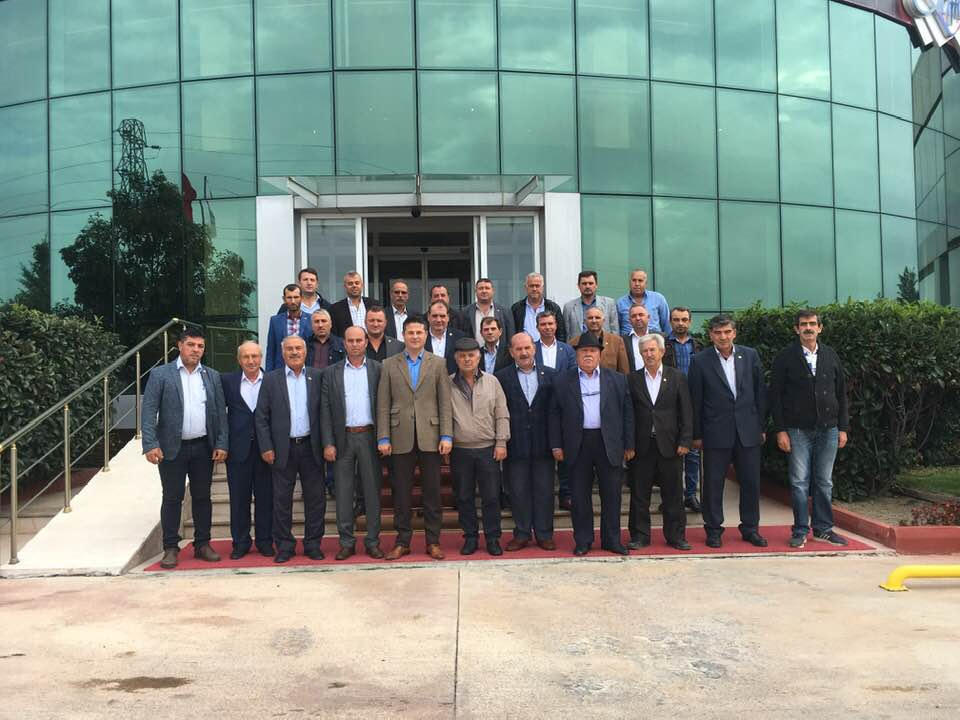 AK Partili İl Genel Meclisi Üyeleri Muhtarları Dinledi.