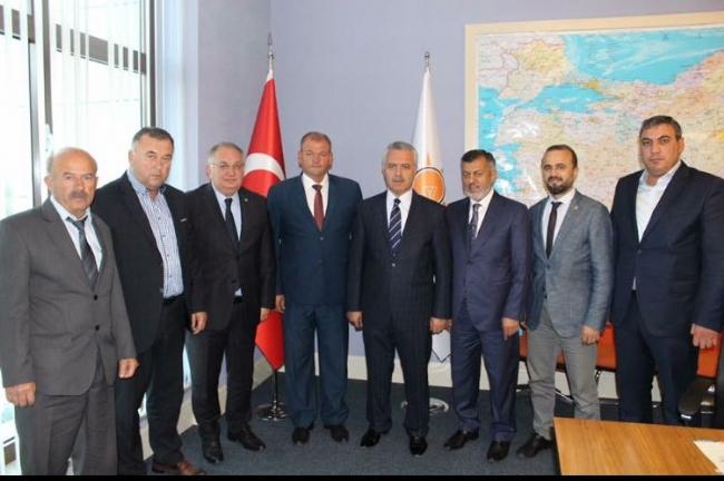AK Parti Meriç ve Süloğlu'na Yeni Başkan Atadı.