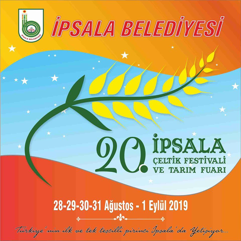 İpsala Çeltik Festivali ve Tarım Fuarının Programı Netleşti.