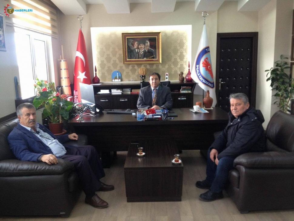 MHP İlçe Başkanı Avkıran, Ziyaretlerini Sürdürüyor.