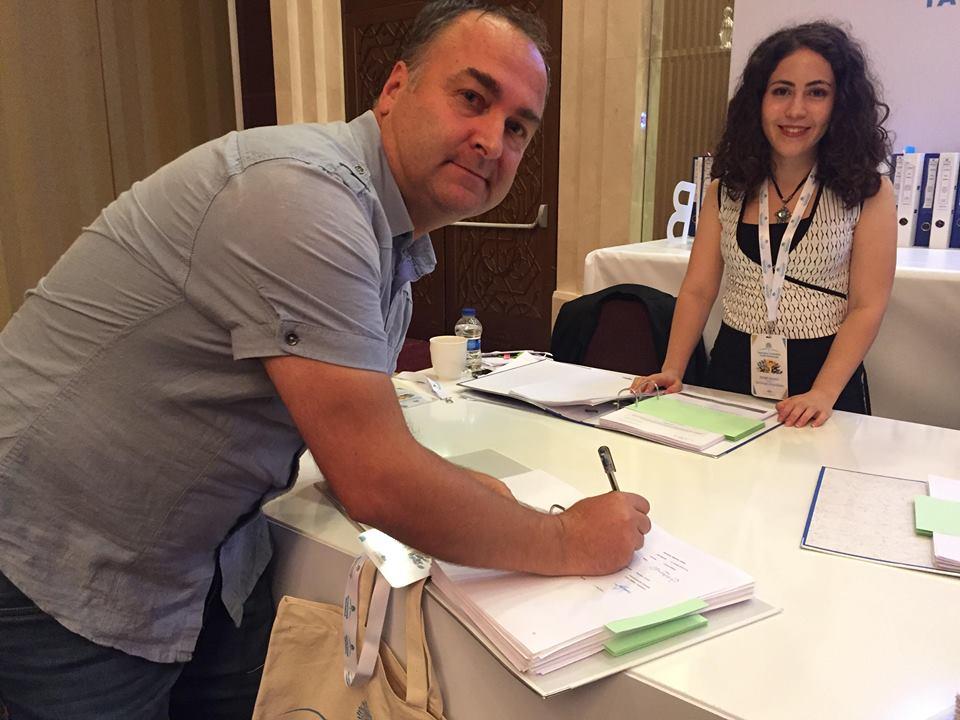 TANAP'ta Proje İmzaları Atıldı.