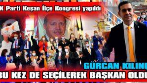 """AK Parti Keşan'da Gürcan Kılınç İle """"Devam"""" Dedi."""