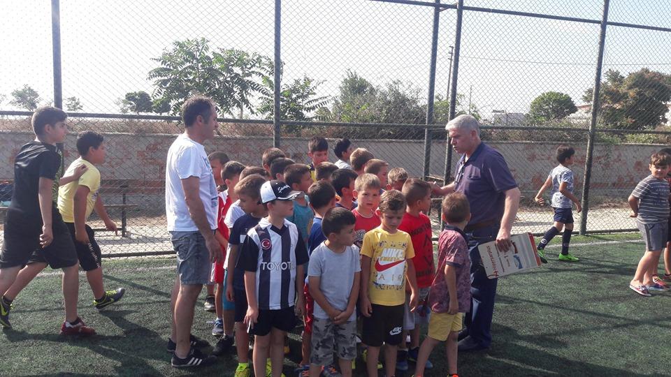 Yenikarpuzlu'da Yaz Spor Okulu Açıldı.