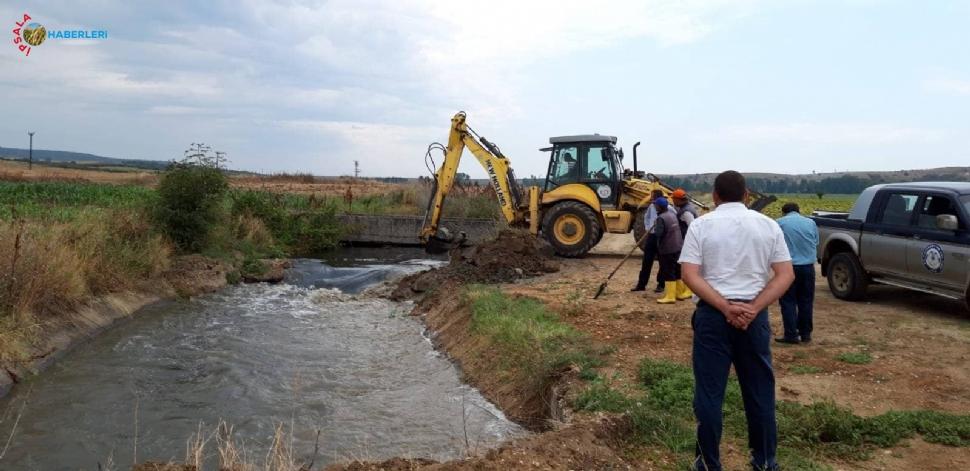 Hamzadere Sulama Birliği Çiftçiye Can Suyu Verdi.