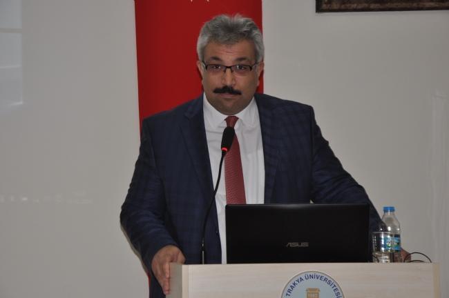 İpsala Kaymakamı Eyyup Özdemir, Seminer Verdi.