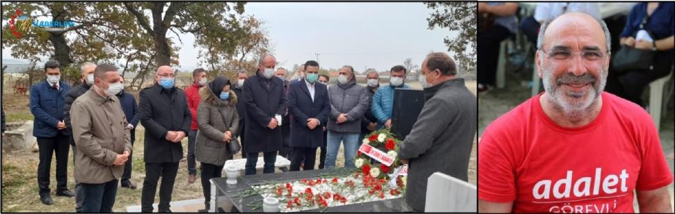 Erdin Bircan, mezarı başında anıldı