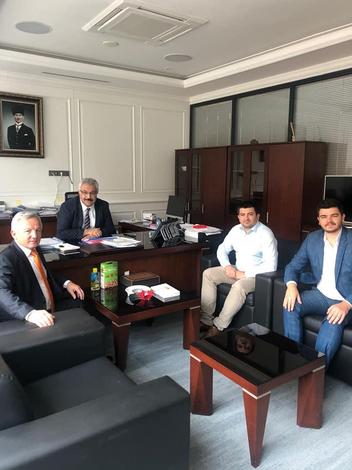 Özdemir, Ankara'daki Görevine Başladı.