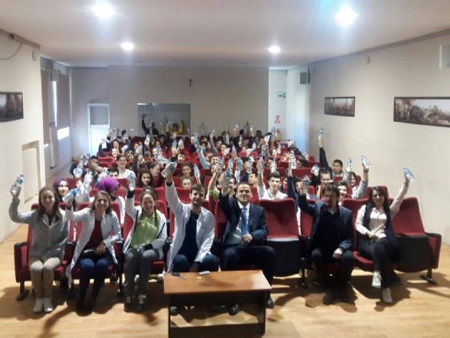 İpsala Anadolu Lisesi Öğrencileri 'Dünya Su Günü'nü kutladı