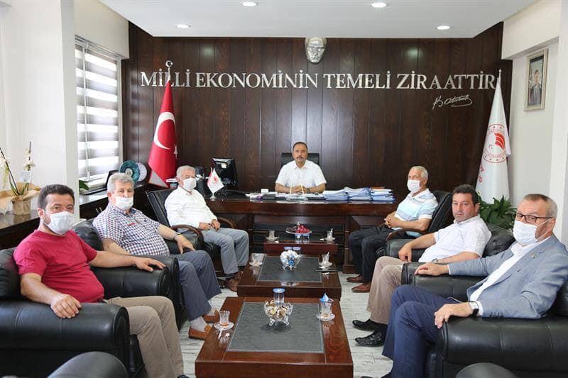 Darcan, Bursa Tarım İl Müdürünü Ziyaret Etti.