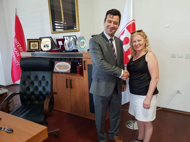 Balkan Üniversitesinin Yıldızı Parlıyor!