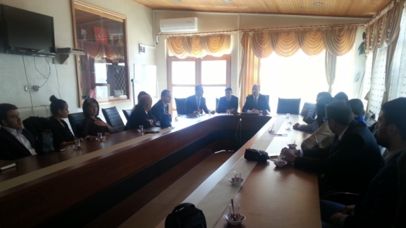 Eğitim Bölgesi Danışma Kurulu Toplantısı Yapıldı.