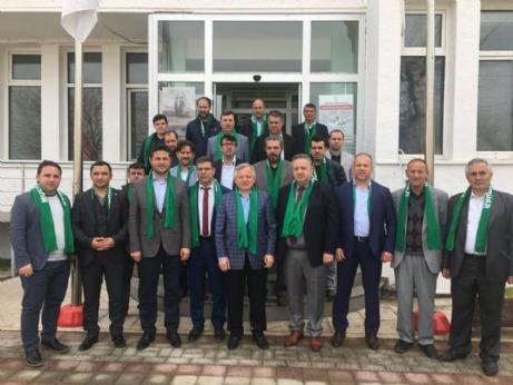 Kerman, Bursalı Misafirlerini Ağırladı
