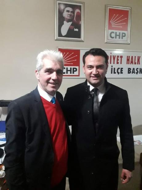 CHP İlçe Başkanı Uybaş,İstifa mı Etti?
