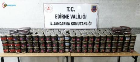 Jandarma ekipleri 394 kg bandrolsüz nargile tütünü ele geçirdi