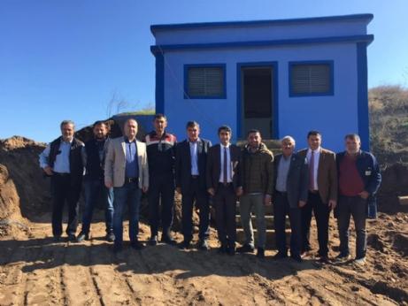 Aslantatar'dan köylere ziyaret