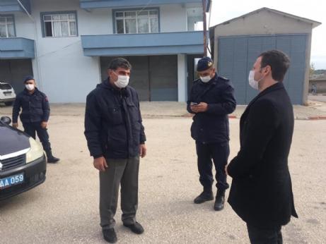 Güngör'den Köylere Virüs Kontrolü