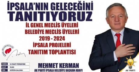 AK Parti Yarın Tanıtım Toplantısı Yapacak.