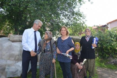 Ünsal'dan Yaşlılara Ziyaret
