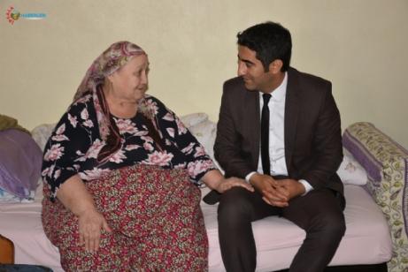 Aslantatar'dan Yaşlılara Ziyaret