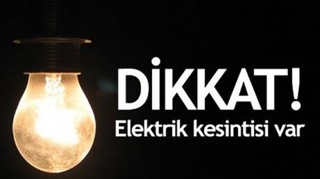 Keşan ve İpsala'nın bazı köylerinde elektrik kesintisi yapılacak
