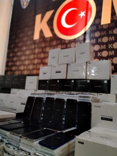 İpsala'da Kaçak Elektronik Eşya Yakalandı