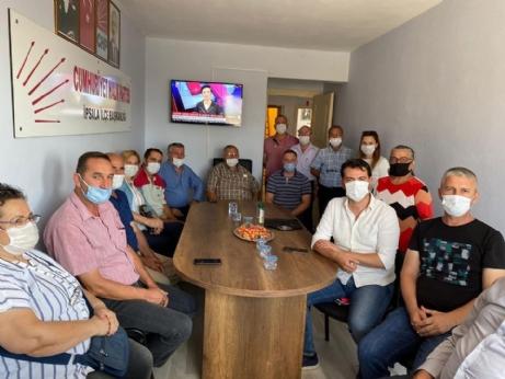 CHP'ye Ortak Ziyareti