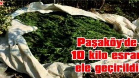 Paşaköy'de 10 Kilo Esrar Ele Geçirildi