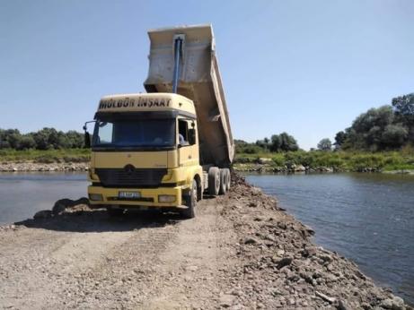 Meriç Nehrine Deniz Suyu Karışmaması İçin Set Yapıldı