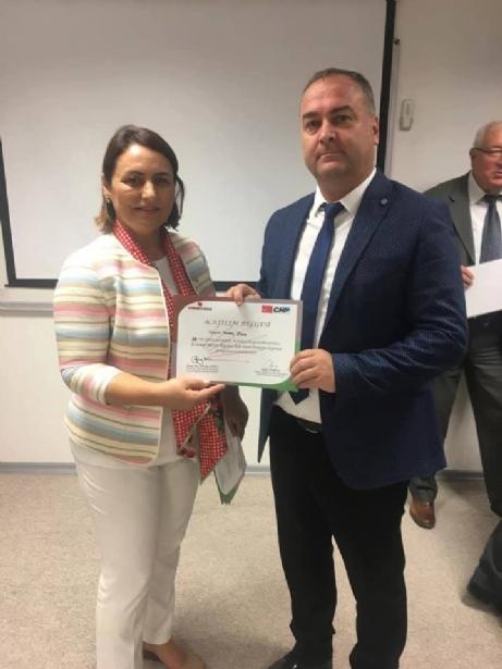 Aliş, CHP'nin İl Genel Meclis Üyeleri Seminerine Katıldı.