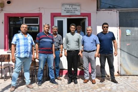 Aslantatar, Köyleri Ziyaret Etti.