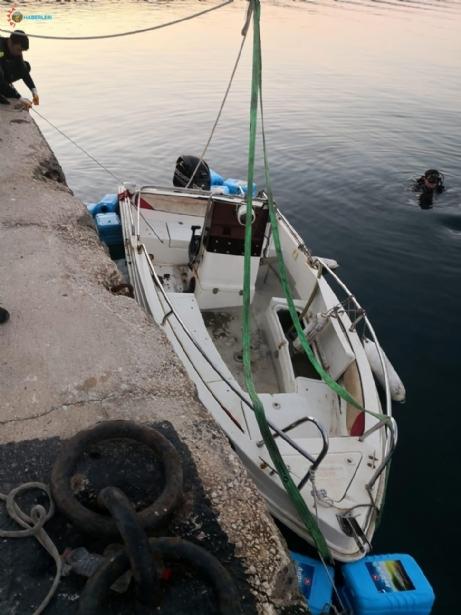 Enez'de Batan Tekne de Bulundu