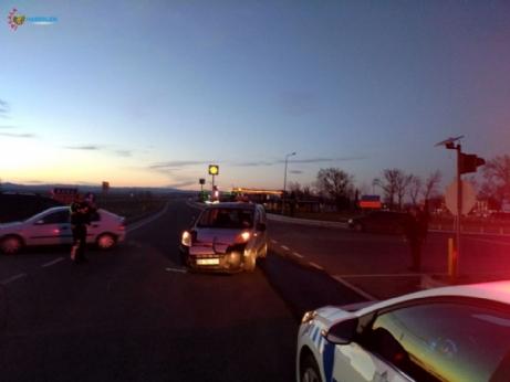 İpsala'da meydana gelen trafik kazasında 2 kişi yaralandı