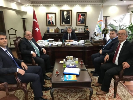 Ankara ziyaretinde, ithal çeltik sorununu anlattık