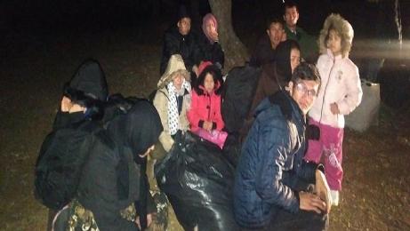 Fatih'de, 10 göçmen yakalandı