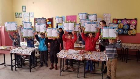 Öğrencilerin Karne Sevinci!