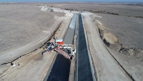 Hamzadere Barajı  131 bin 570 dekar araziyi sulayacak