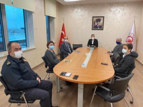 Gümrük Güvenlik Toplantısı Yapıldı.