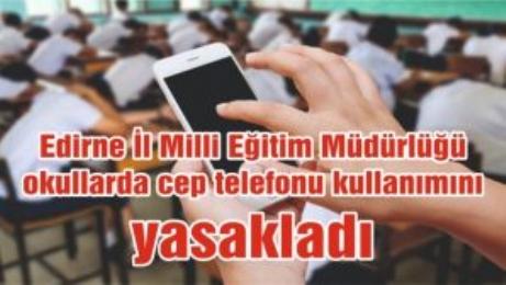 Bugünden İtibaren Okullarda Öğrencilere Cep Telefonu Yasaklandı.