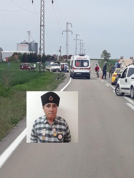 Trafik Kazasında Kıbrıs Gazisi Hayatını Kaybetti.