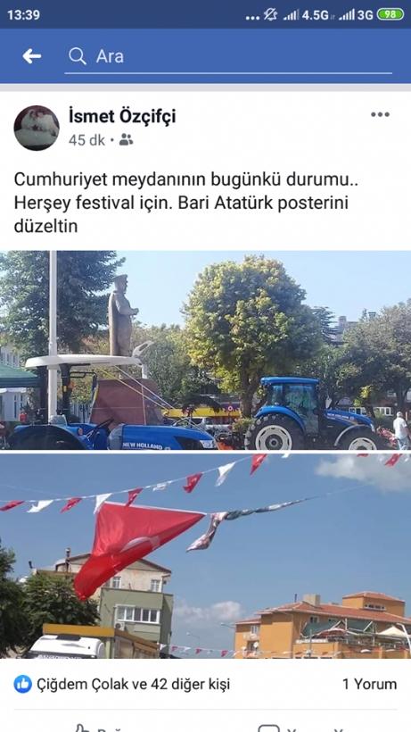 """""""Bari Atatürk Posterini Düzeltin!"""""""