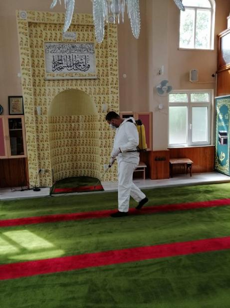 Camilerde Son Hazırlıklar…