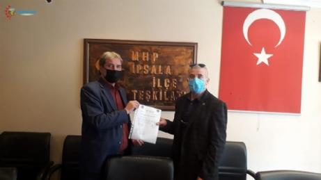 Fahri Aldanmaz MHP'nin Belde Başkanı Oldu