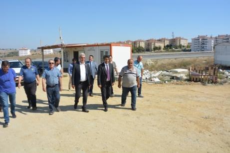 Aslantatar, Sanayi Sitesinde İncelemelerde Bulundu.