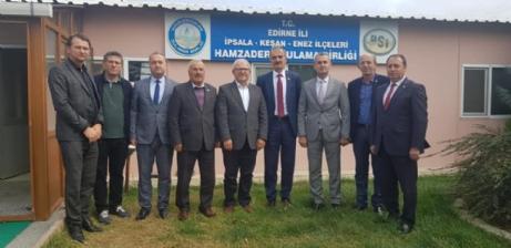 İl Genel Meclis Üyeleri Hamzadere Sulama Birliğini Ziyaret Etti.