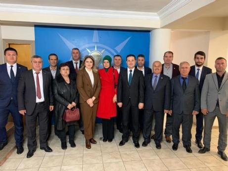 AK Parti'den İba'ya Hayırlı Olsun Ziyareti